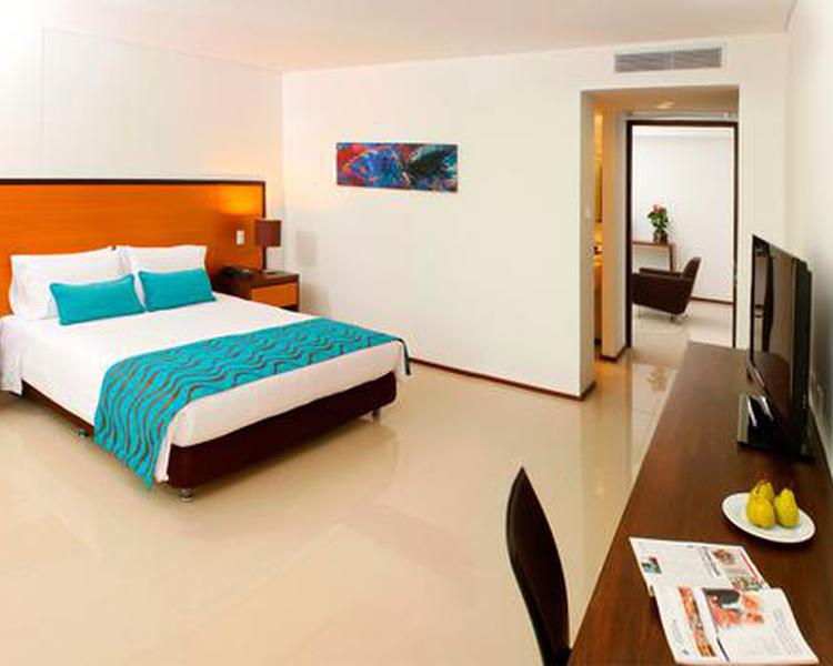 Tour Junior Suite Room ESTELAR En Alto Prado Hotel - Barranquilla